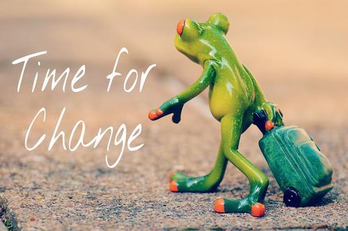 O caminho da mudança